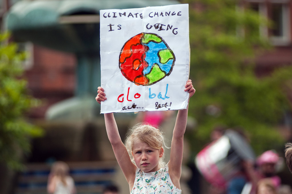 climate change, children