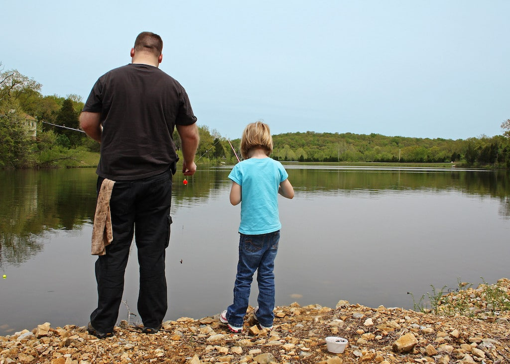Fathers' adverse childhood experiences are linked to their children's development